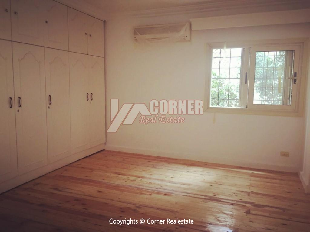 Ground Floor Duplex For Rent in Maadi,Semi furnished,Ground Floor NO #21