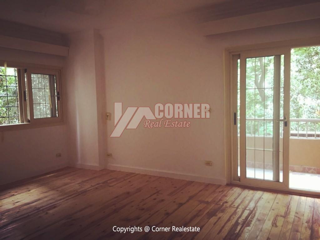 Ground Floor Duplex For Rent in Maadi,Semi furnished,Ground Floor NO #22
