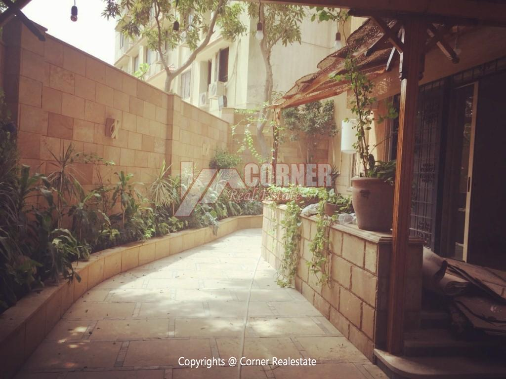 Ground Floor Duplex For Rent in Maadi,Semi furnished,Ground Floor NO #13