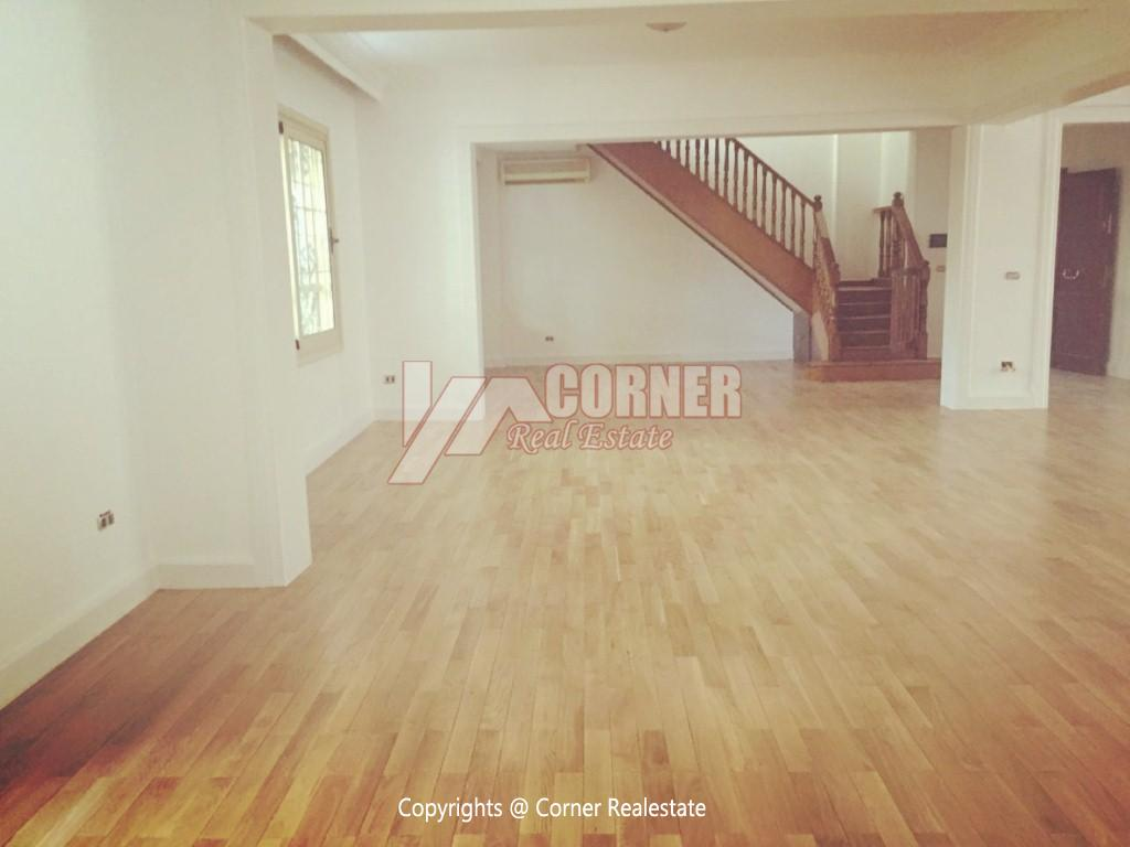 Ground Floor Duplex For Rent in Maadi,Semi furnished,Ground Floor NO #12