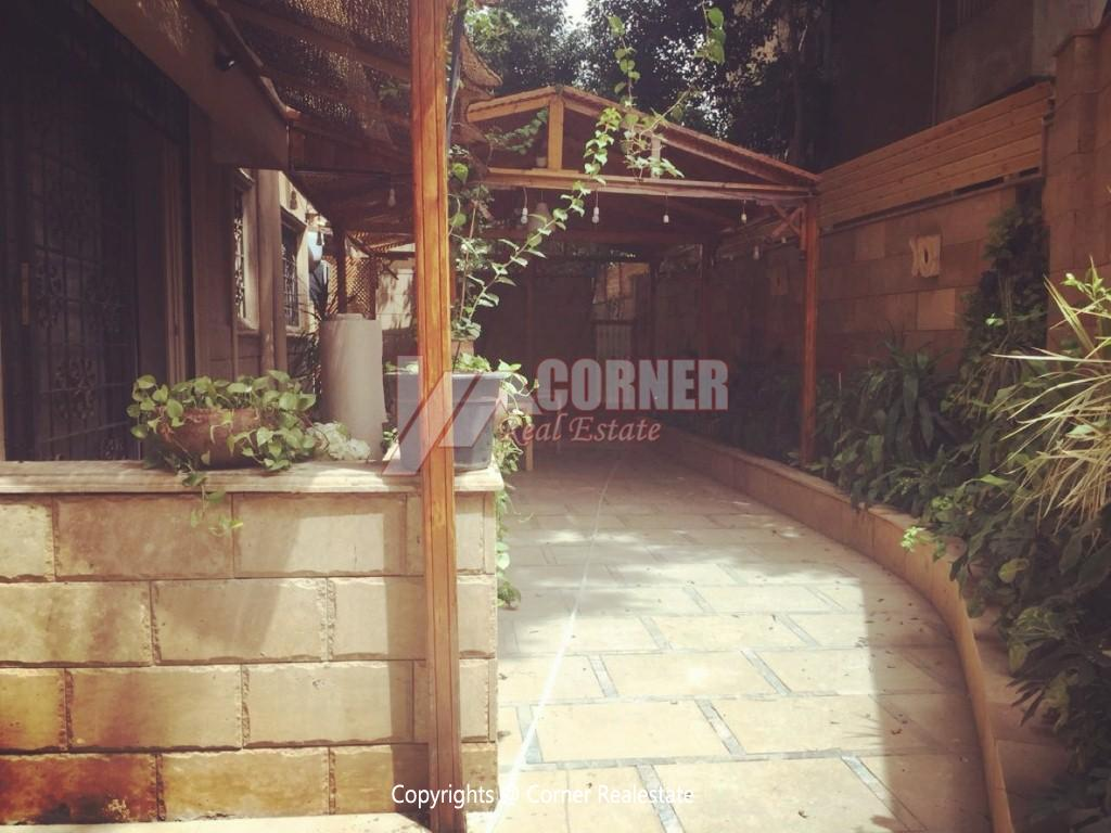 Ground Floor Duplex For Rent in Maadi,Semi furnished,Ground Floor NO #4
