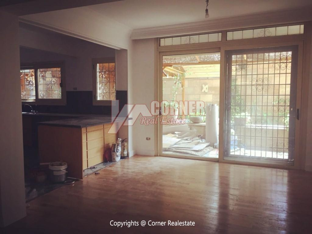 Ground Floor Duplex For Rent in Maadi,Semi furnished,Ground Floor NO #5