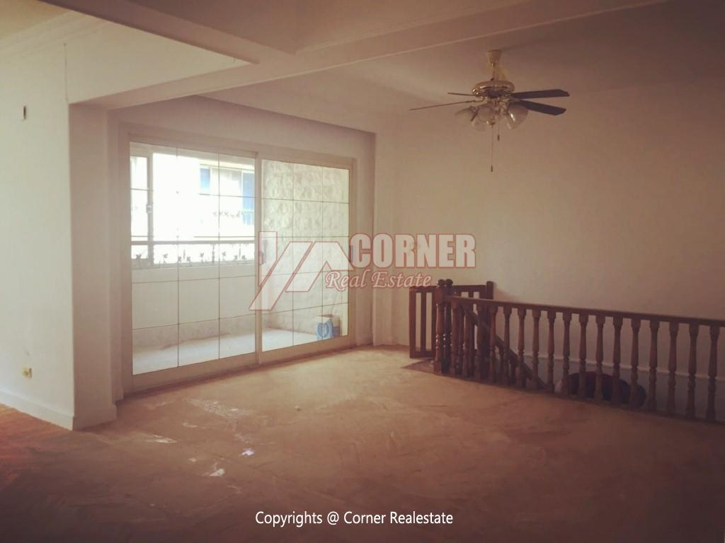 Ground Floor Duplex For Rent in Maadi,Semi furnished,Ground Floor NO #10