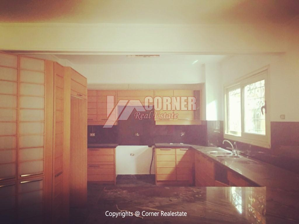 Ground Floor Duplex For Rent in Maadi,Semi furnished,Ground Floor NO #23