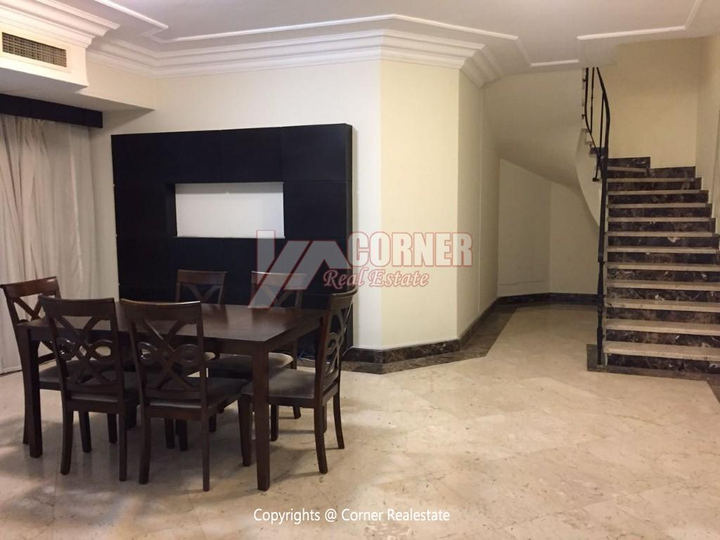 Ground Floor With Pool For Rent In Maadi,Modern Furnished,Ground Floor NO #14