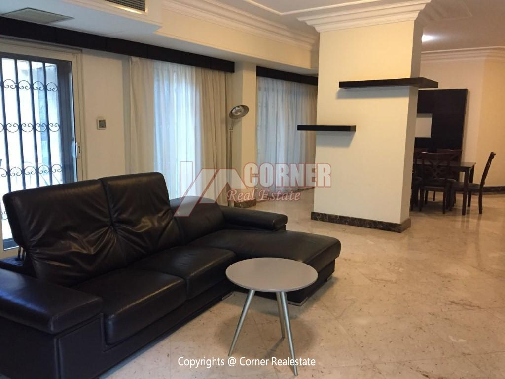 Ground Floor With Pool For Rent In Maadi,Modern Furnished,Ground Floor NO #7