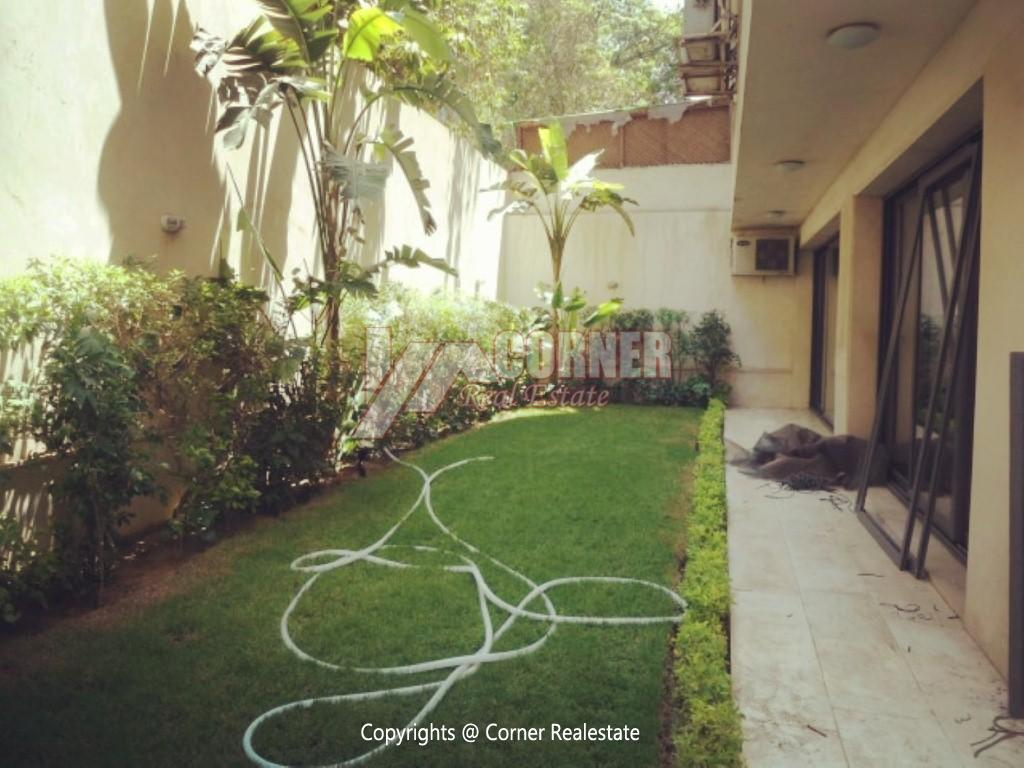 Ground Floor With Pool For Rent In Maadi ,Modern Furnished,Ground Floor NO #1