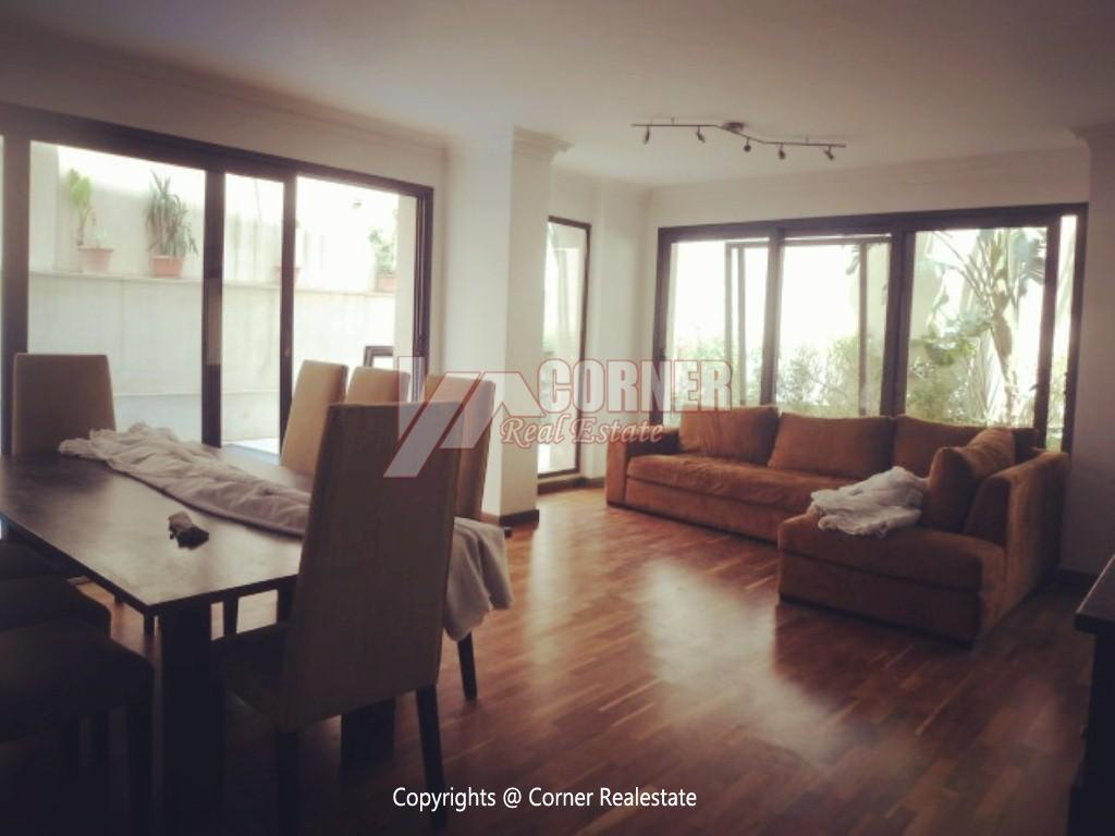 Ground Floor With Pool For Rent In Maadi ,Modern Furnished,Ground Floor NO #17