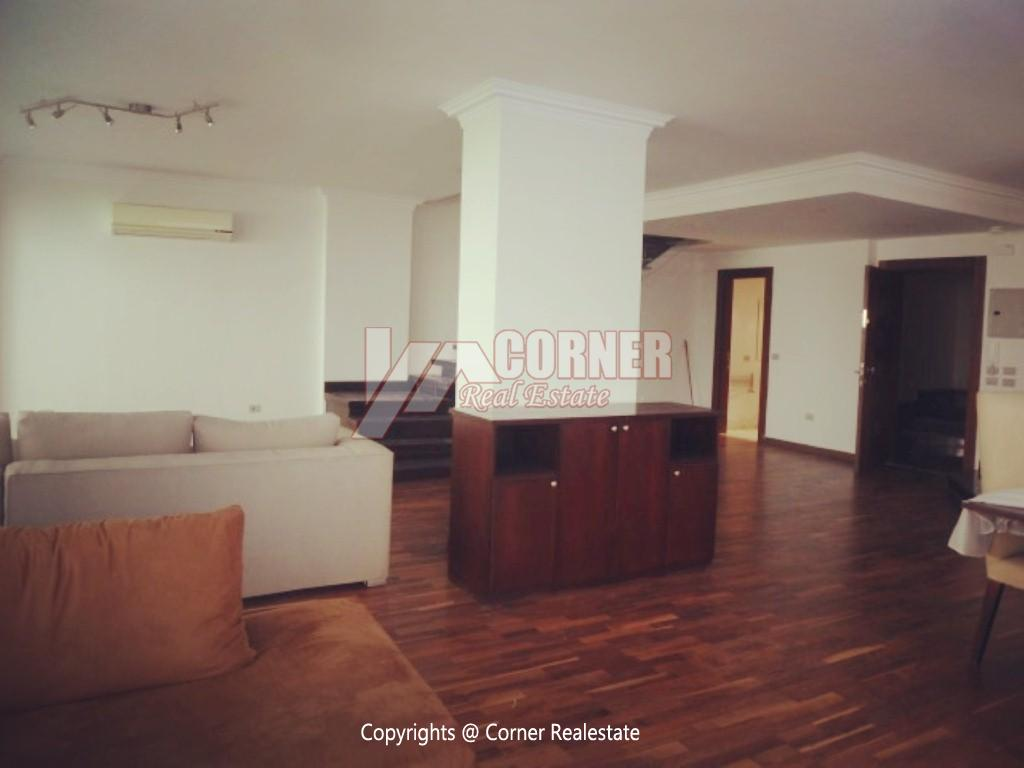 Ground Floor With Pool For Rent In Maadi ,Modern Furnished,Ground Floor NO #19
