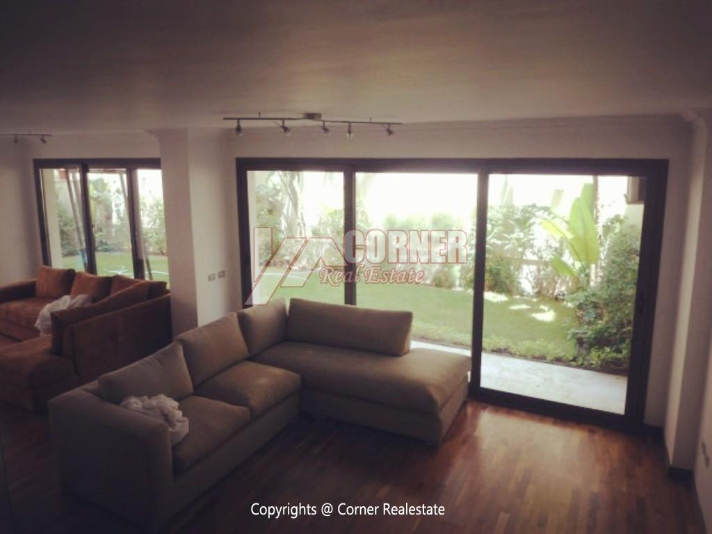 Ground Floor With Pool For Rent In Maadi ,Modern Furnished,Ground Floor NO #9