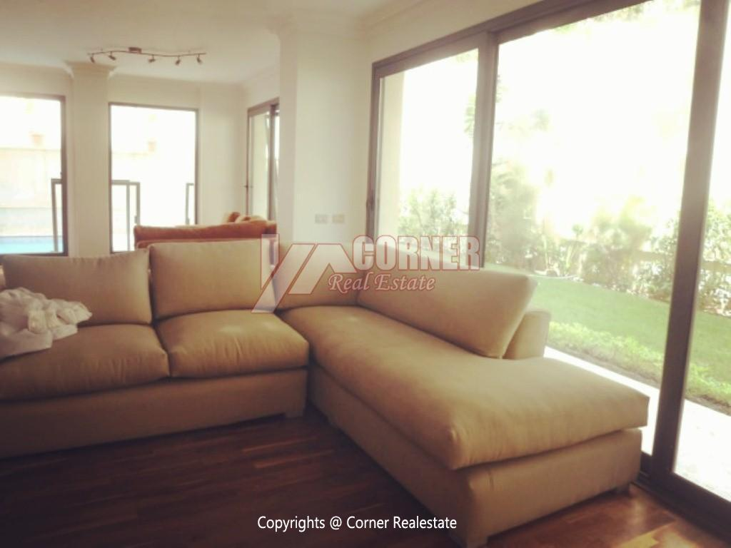 Ground Floor With Pool For Rent In Maadi ,Modern Furnished,Ground Floor NO #20