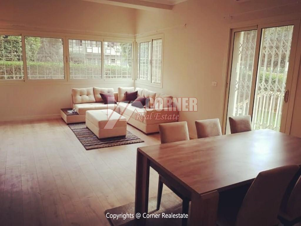 Ground Floor For Rent in Maadi Degla,Modern Furnished,Ground Floor NO #2