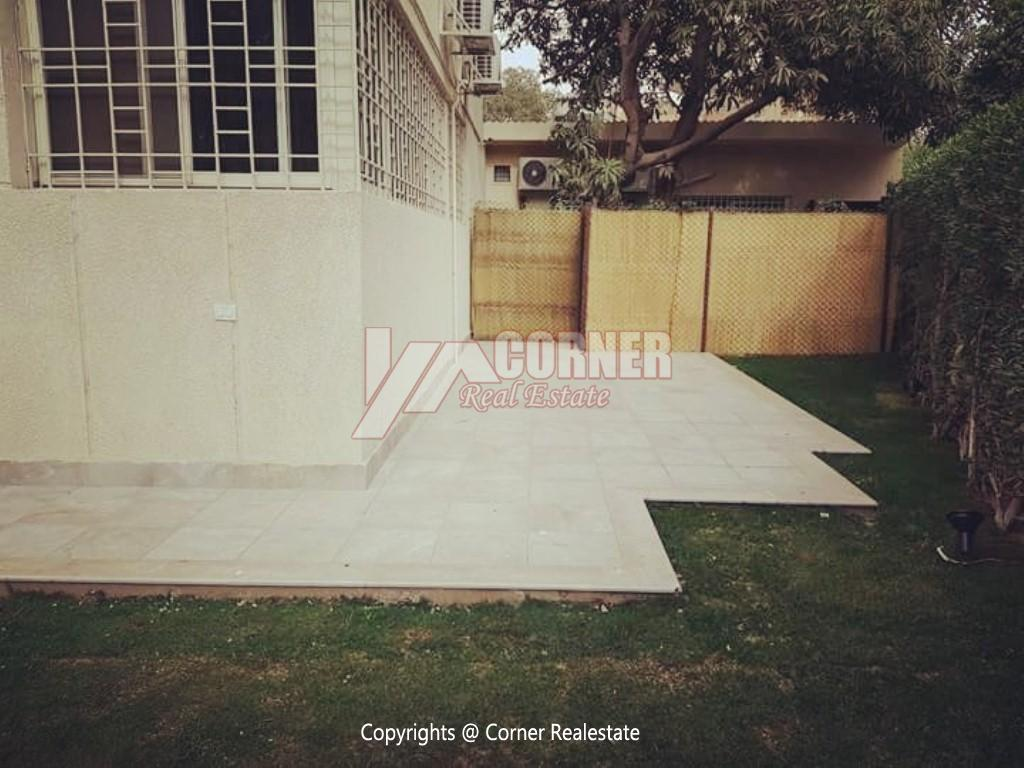 Ground Floor For Rent in Maadi Degla,Modern Furnished,Ground Floor NO #4