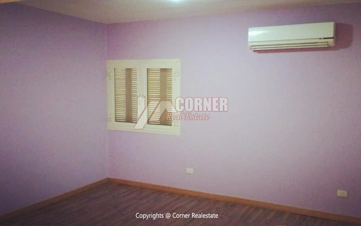 Ground Floor With Private Garden For Rent in Maadi,Semi furnished,Ground Floor NO #16