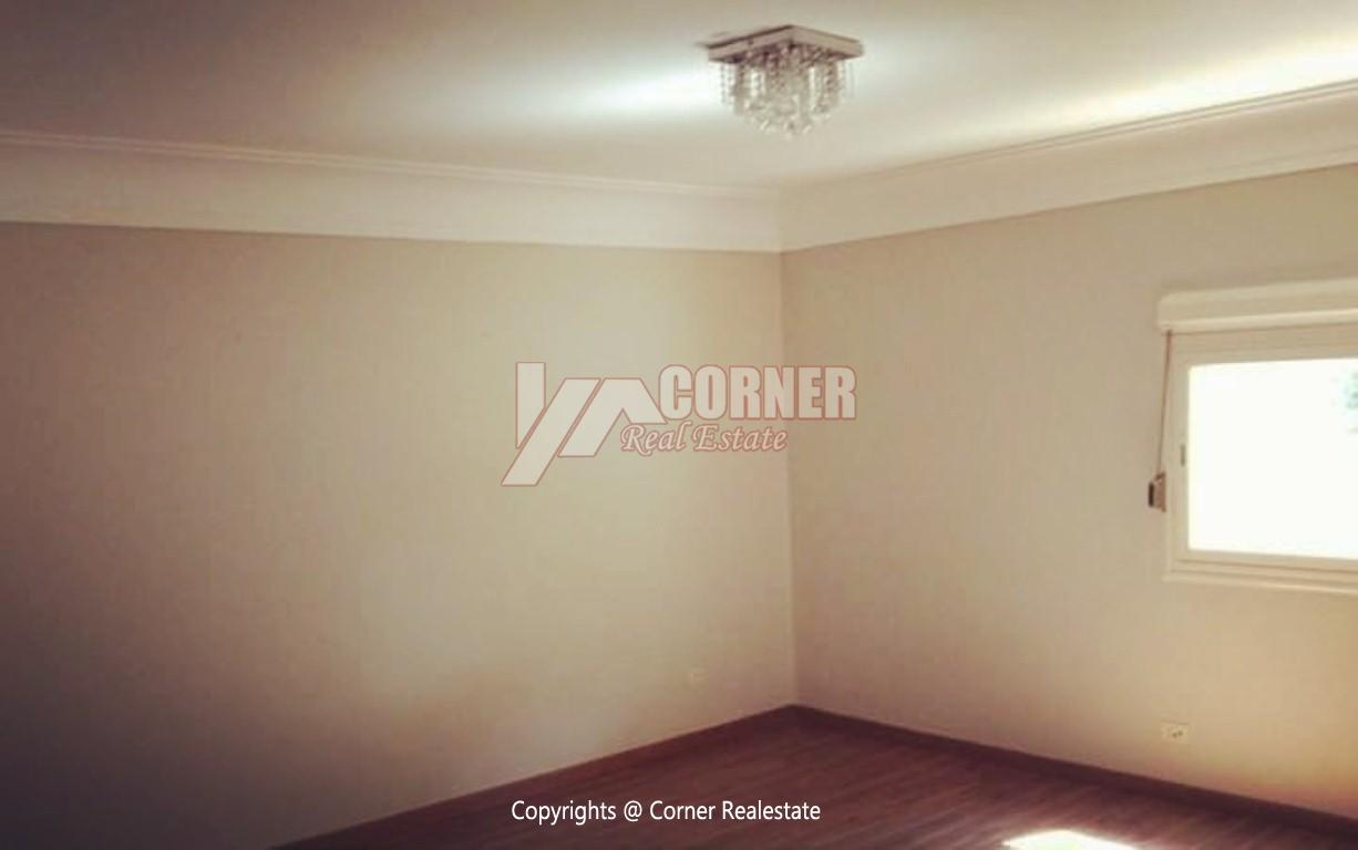 Ground Floor With Private Garden For Rent in Maadi,Semi furnished,Ground Floor NO #18