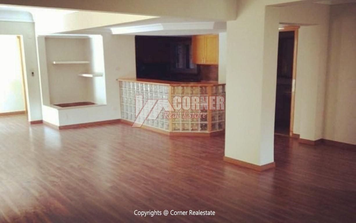 Ground Floor With Private Garden For Rent in Maadi,Semi furnished,Ground Floor NO #21