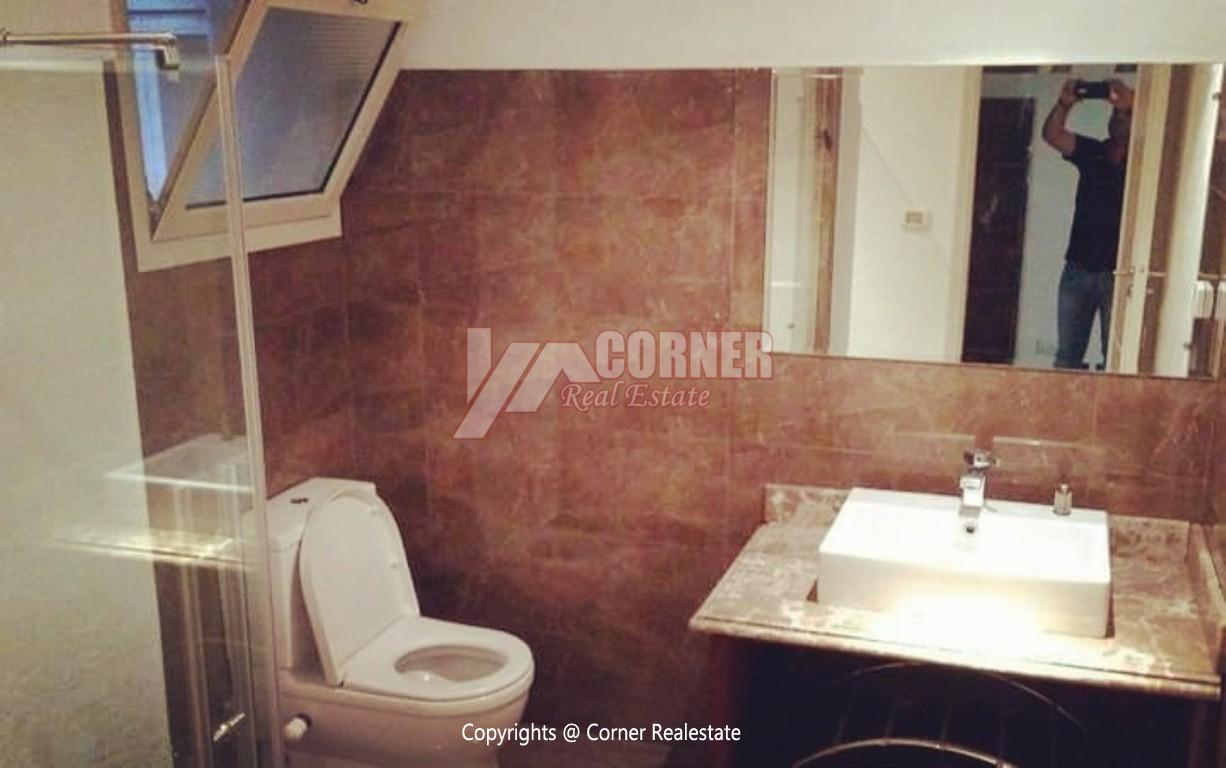 Ground Floor With Private Garden For Rent in Maadi,Semi furnished,Ground Floor NO #25