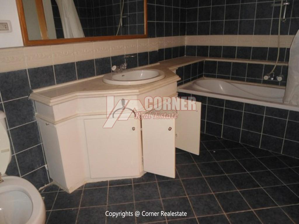 Ground Floor With Private Garden For Rent in Maadi,Semi furnished,Ground Floor NO #10