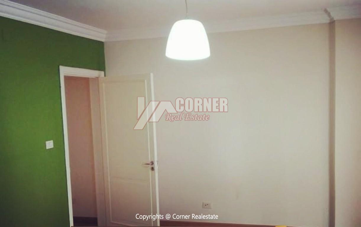 Ground Floor With Private Garden For Rent in Maadi,Semi furnished,Ground Floor NO #28