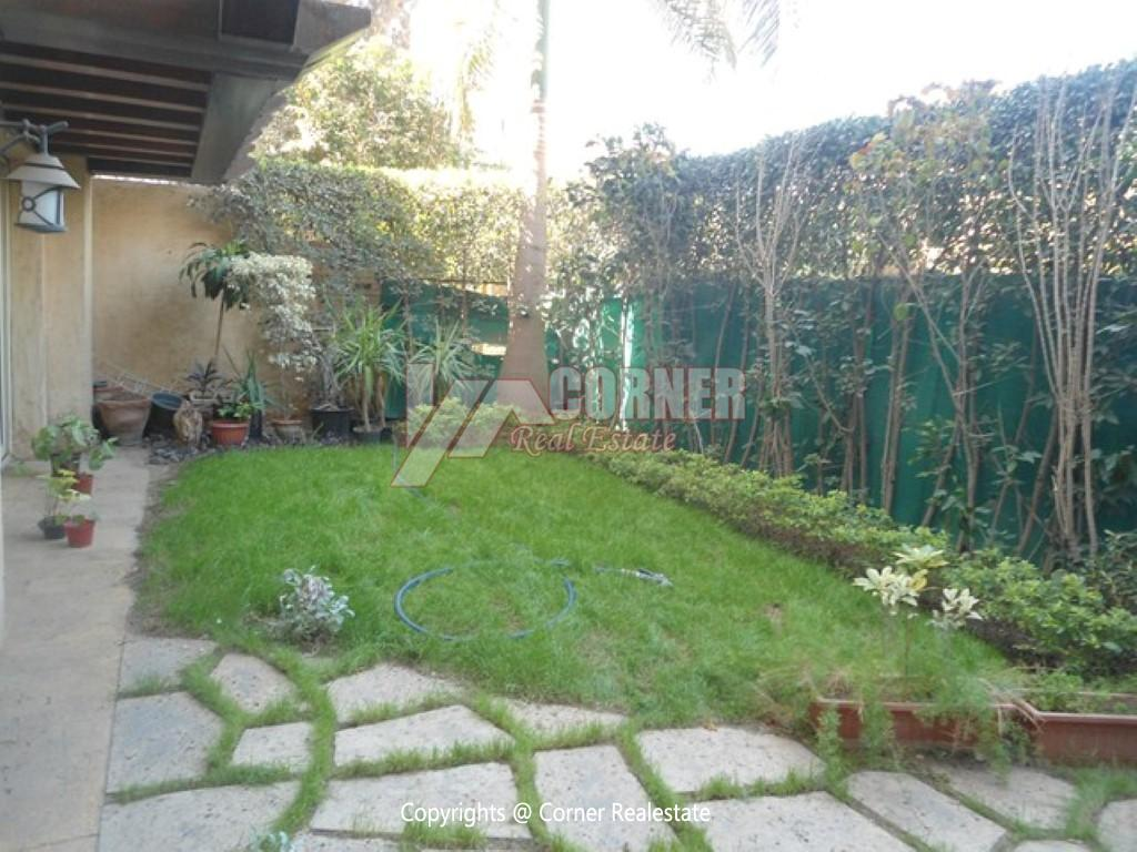 Ground Floor With Private Garden For Rent in Maadi,Modern Furnished,Ground Floor NO #1