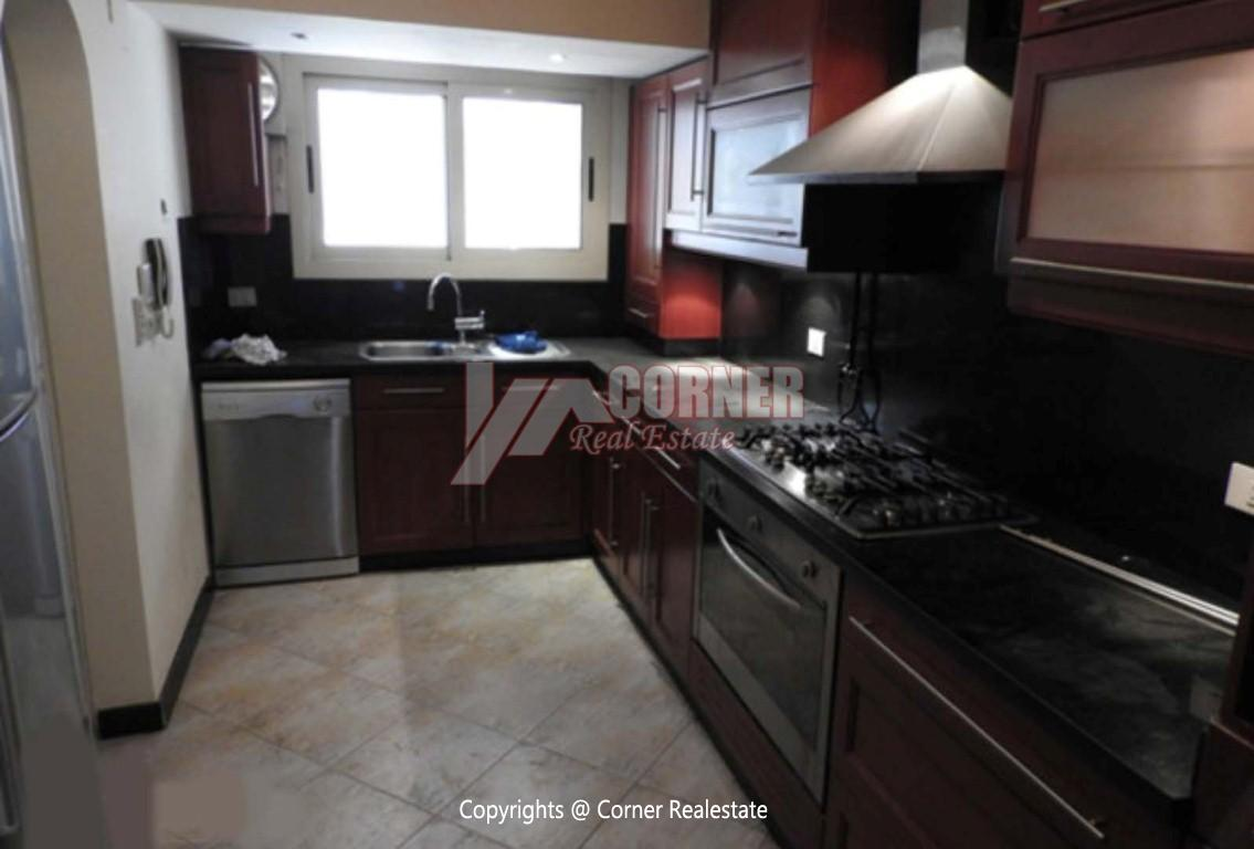 Ground Floor With Private Garden For Rent in Maadi,Modern Furnished,Ground Floor NO #13