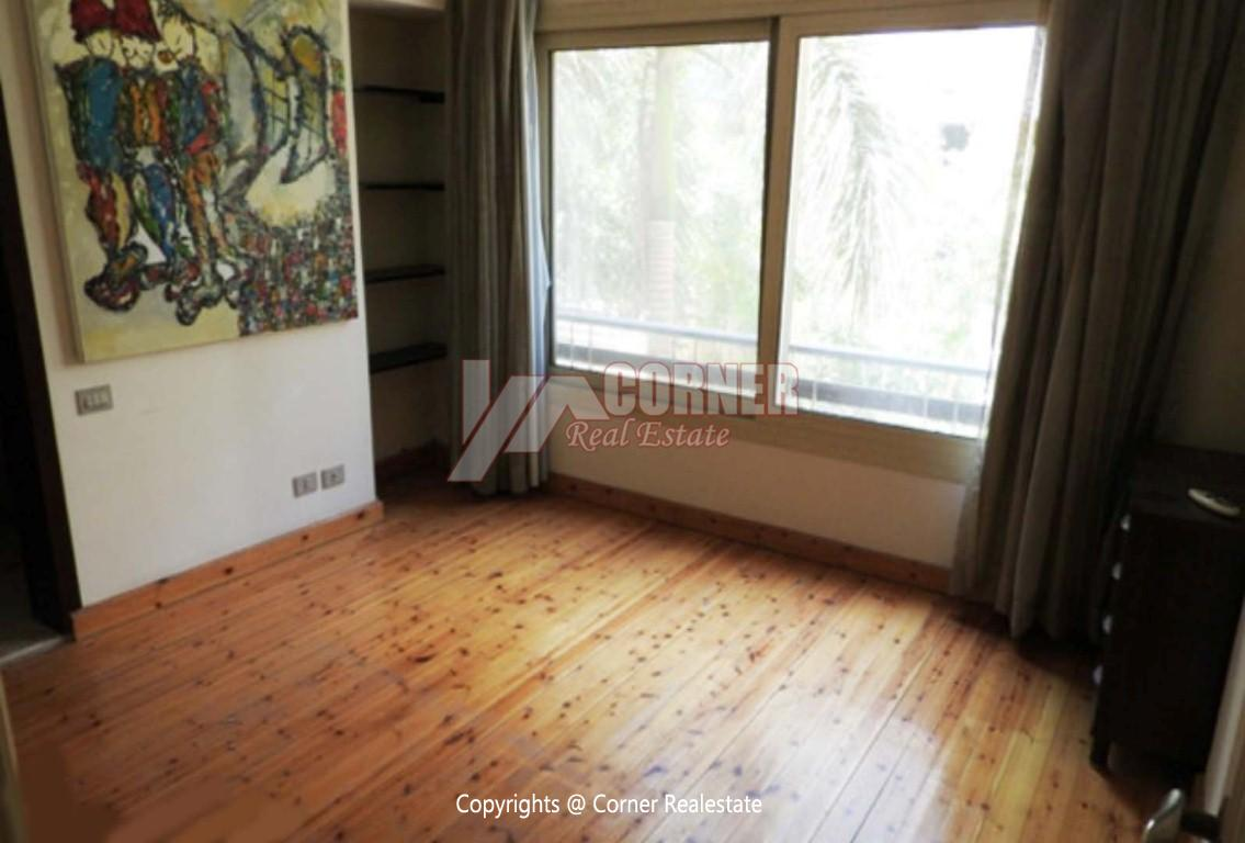 Ground Floor With Private Garden For Rent in Maadi,Modern Furnished,Ground Floor NO #12