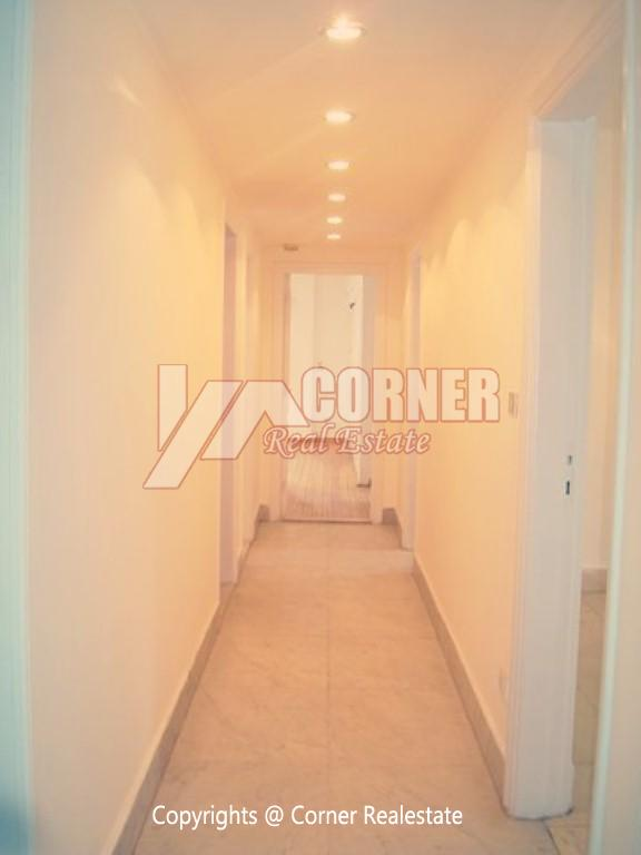 Ground Floor With Private Garden For Rent in Maadi,Semi furnished,Ground Floor NO #20