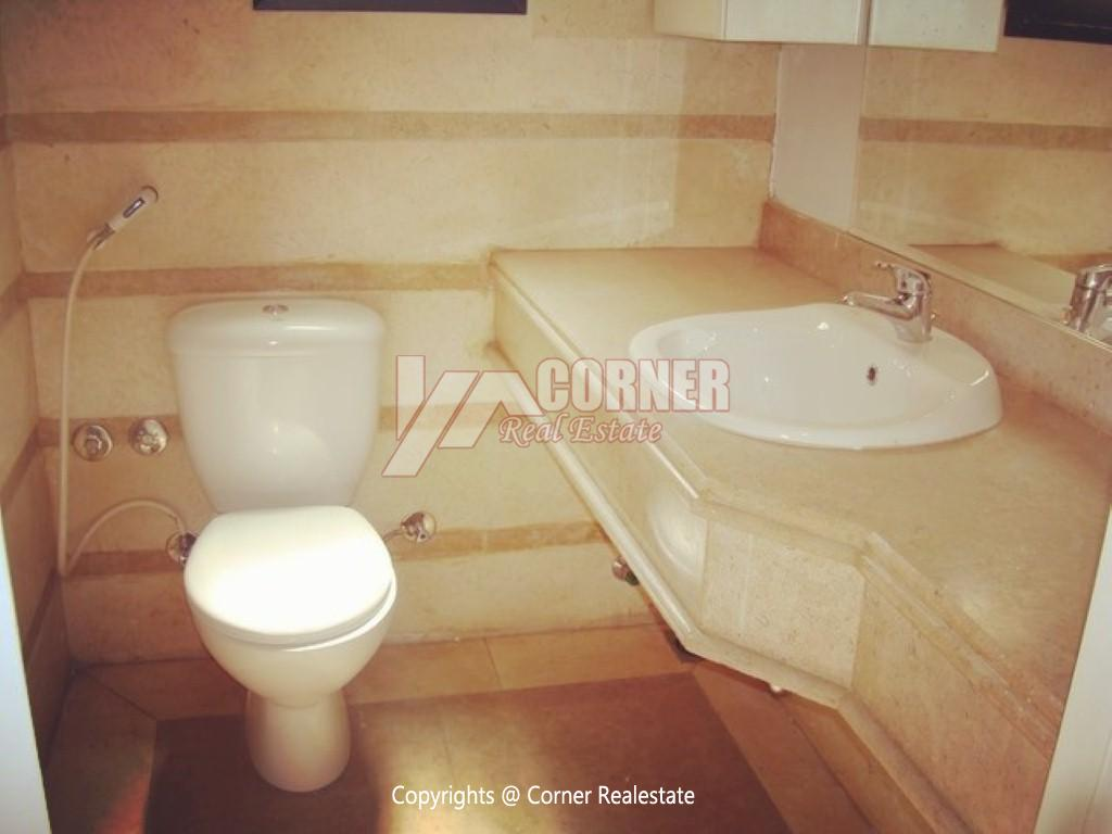 Ground Floor With Private Garden For Rent in Maadi,Semi furnished,Ground Floor NO #12