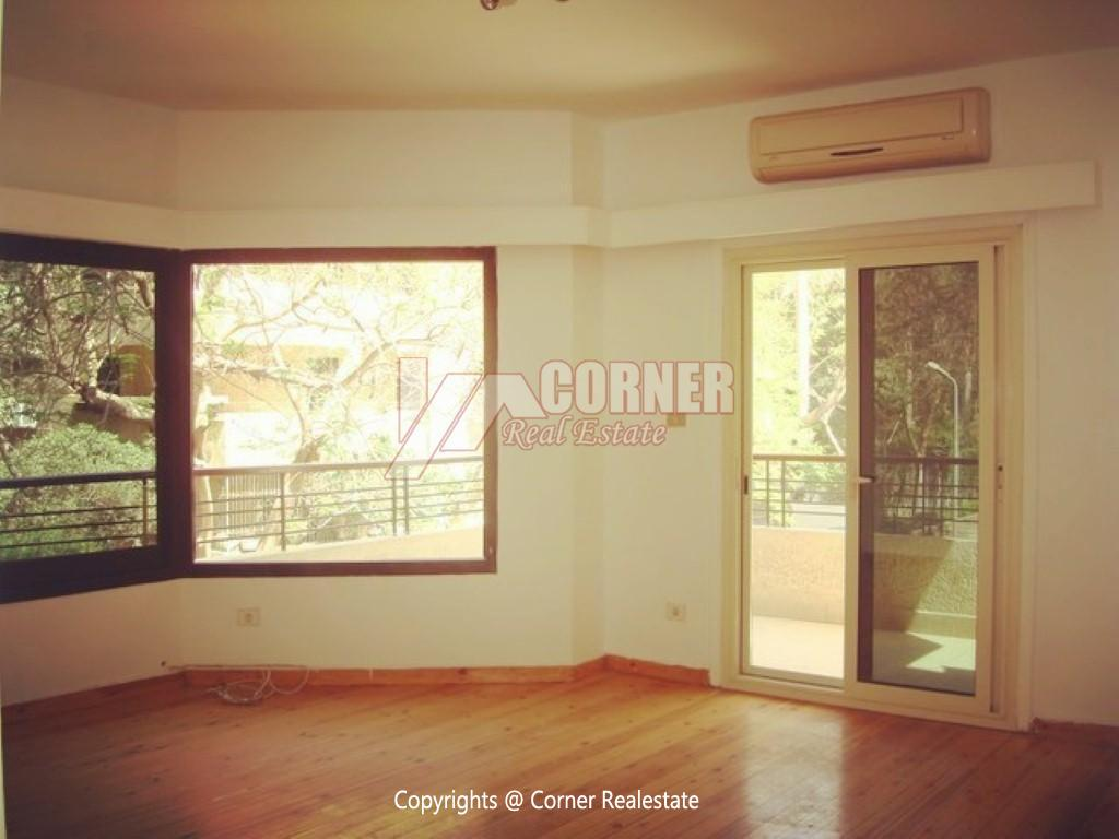 Ground Floor With Private Garden For Rent in Maadi,Semi furnished,Ground Floor NO #5