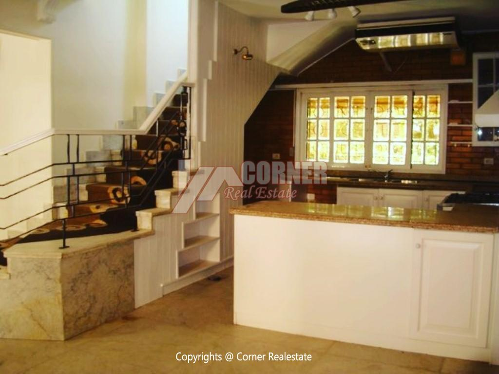 Ground Floor With Private Garden For Rent in Maadi,Semi furnished,Ground Floor NO #6