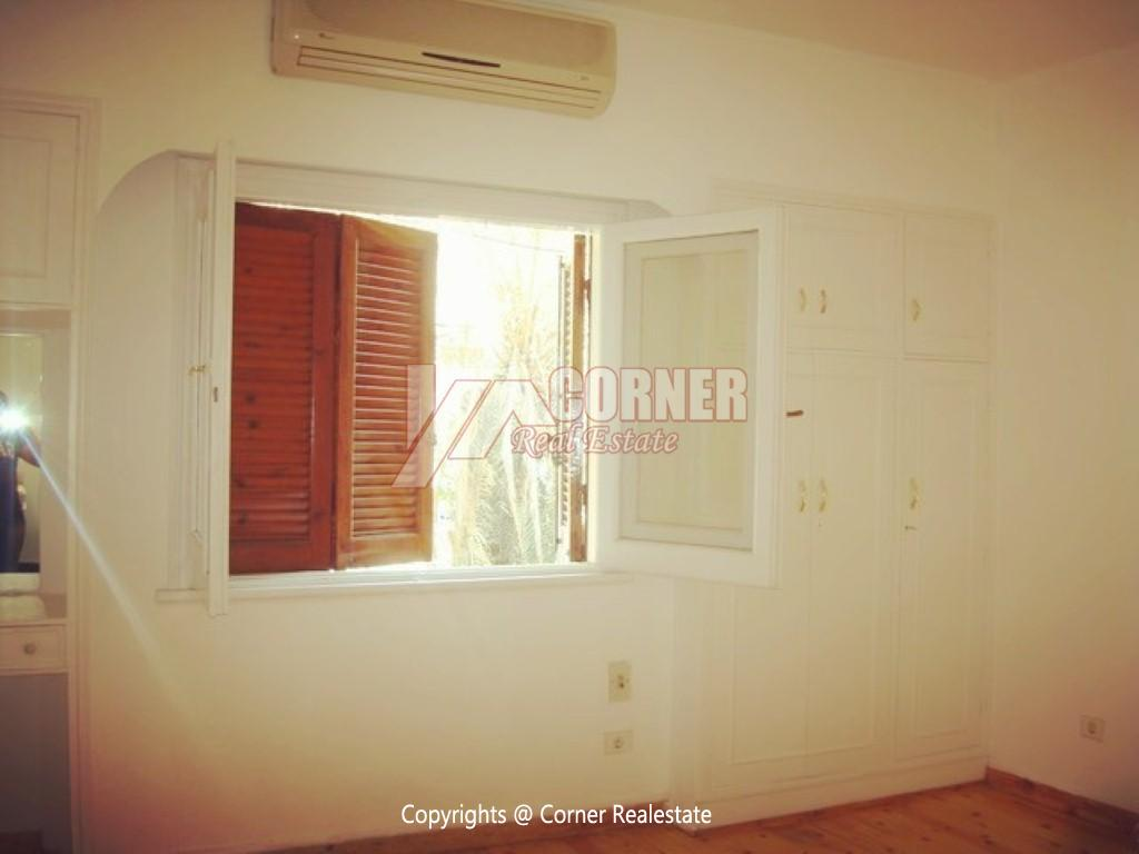 Ground Floor With Private Garden For Rent in Maadi,Semi furnished,Ground Floor NO #7