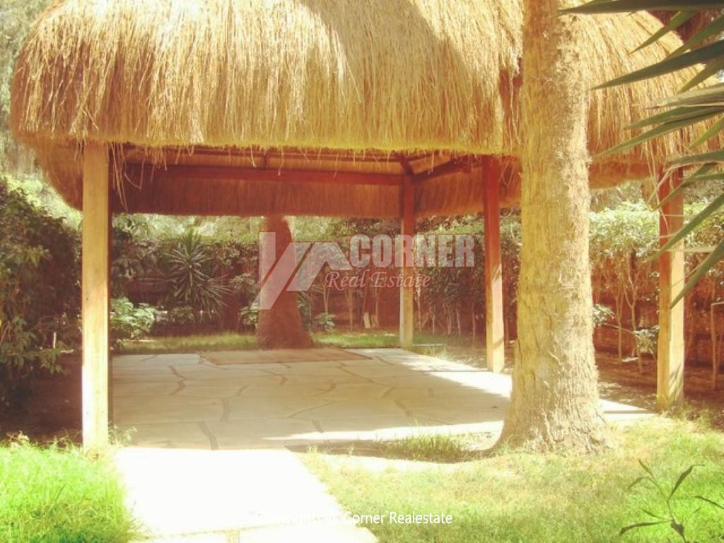 Ground Floor With Private Garden For Rent in Maadi,Semi furnished,Ground Floor NO #23