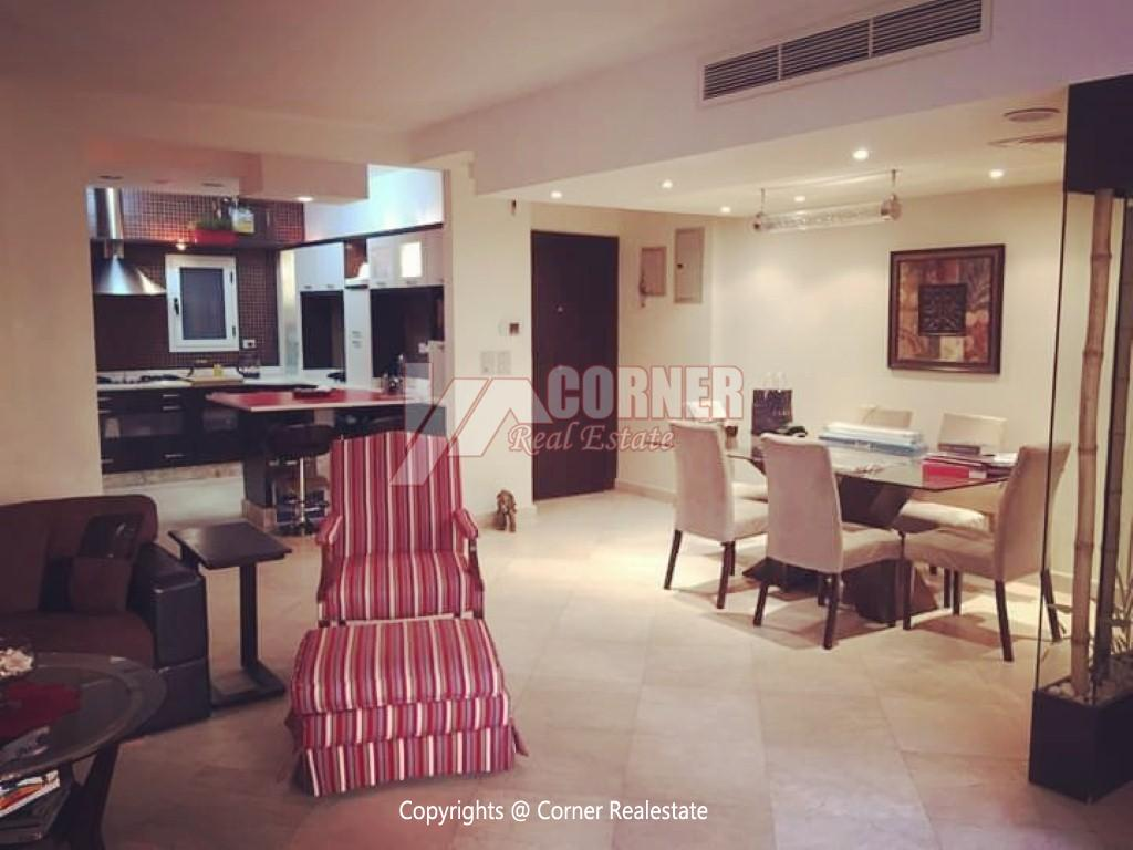 Ground Floor With Private Garden For Rent in Maadi,Modern Furnished,Ground Floor NO #17