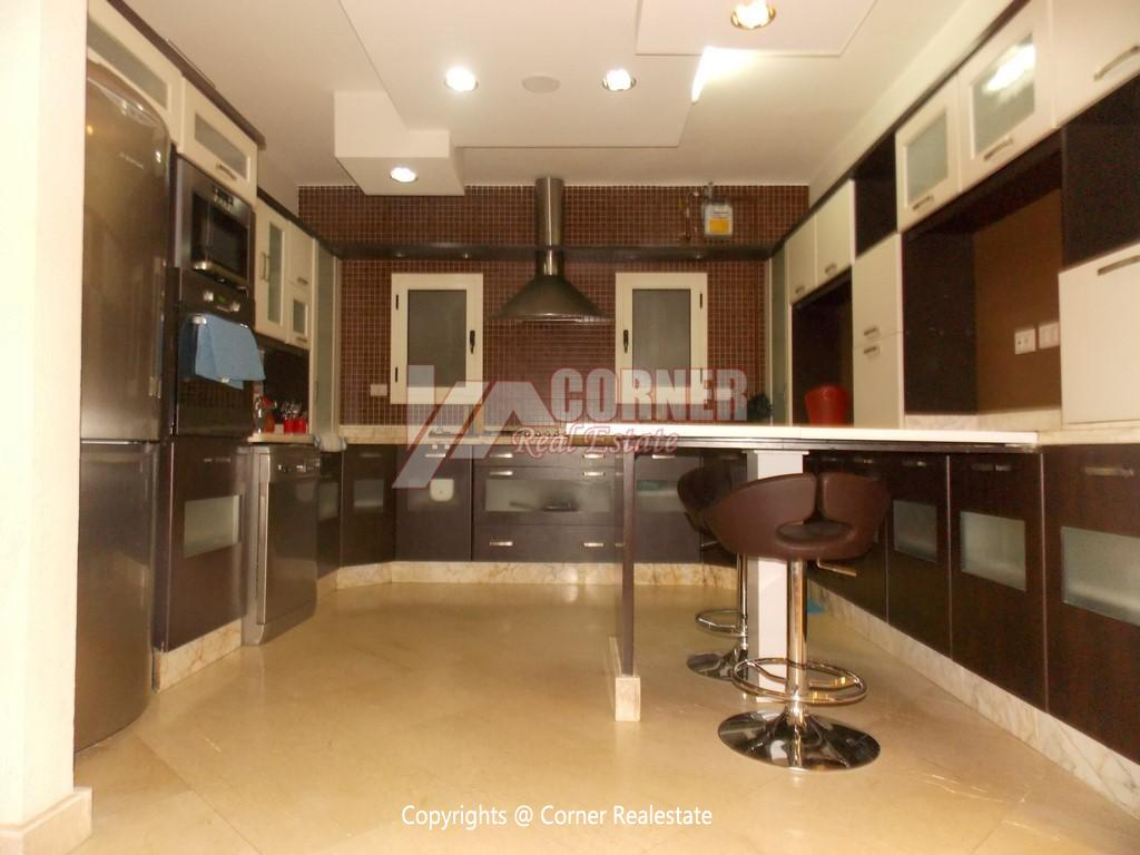 Ground Floor With Private Garden For Rent in Maadi,Modern Furnished,Ground Floor NO #21