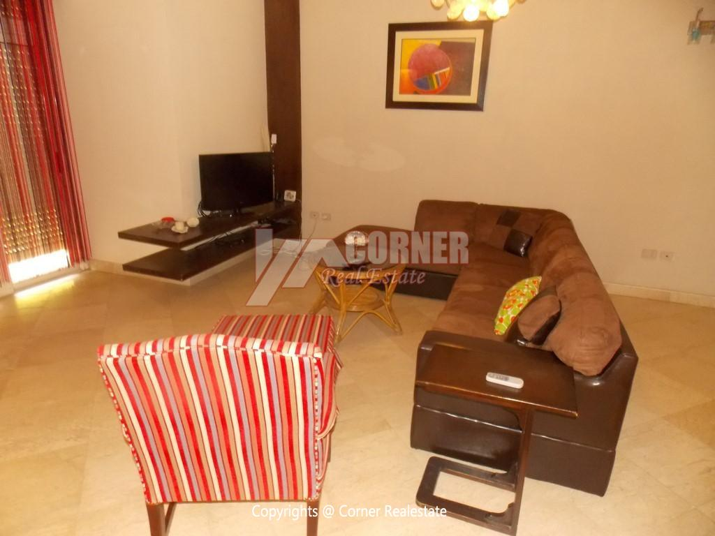 Ground Floor With Private Garden For Rent in Maadi,Modern Furnished,Ground Floor NO #22