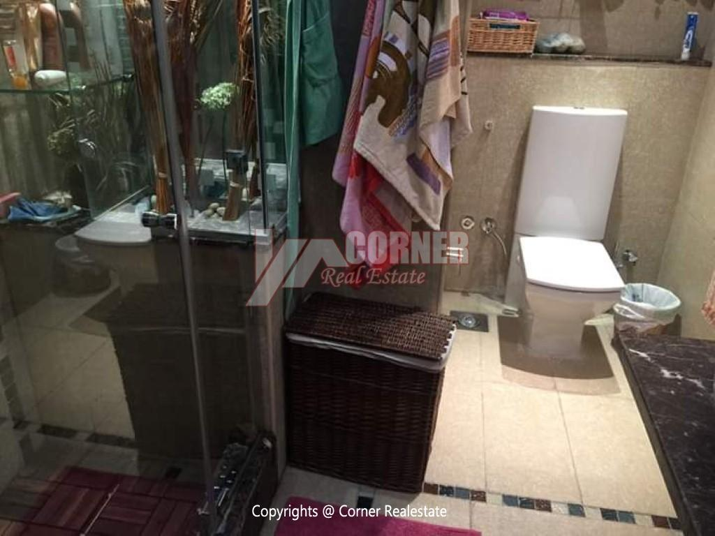 Ground Floor With Private Garden For Rent in Maadi,Modern Furnished,Ground Floor NO #23