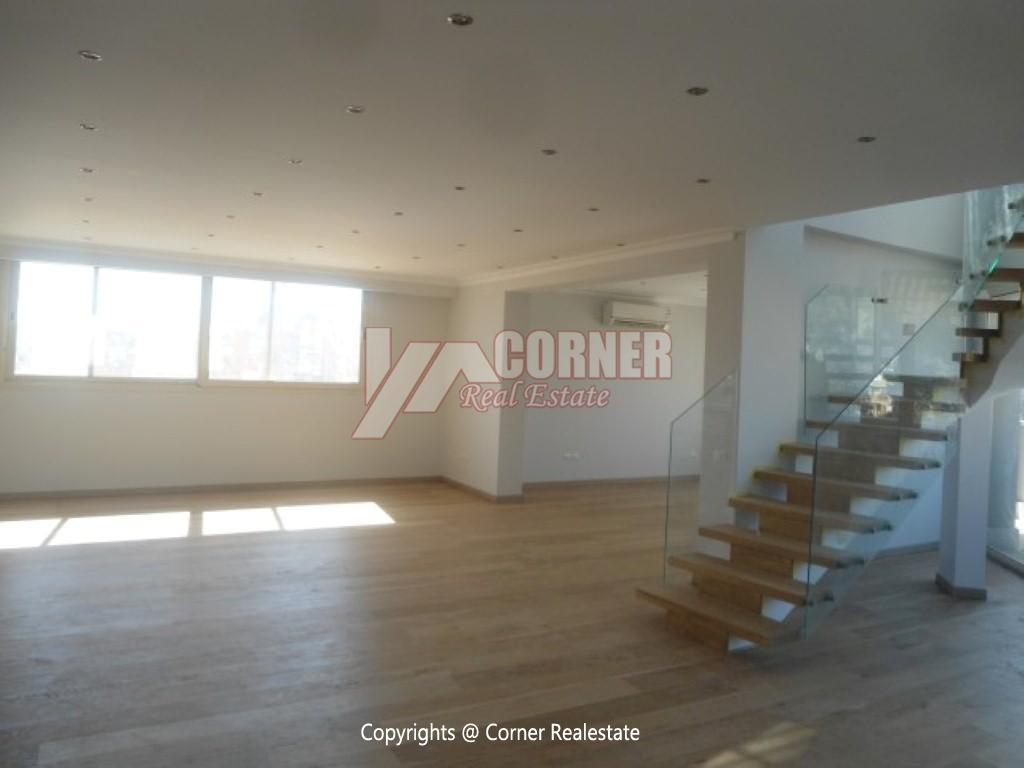 Ground Floor With Private Pool For Rent in Maadi,Semi furnished,Ground Floor NO #8