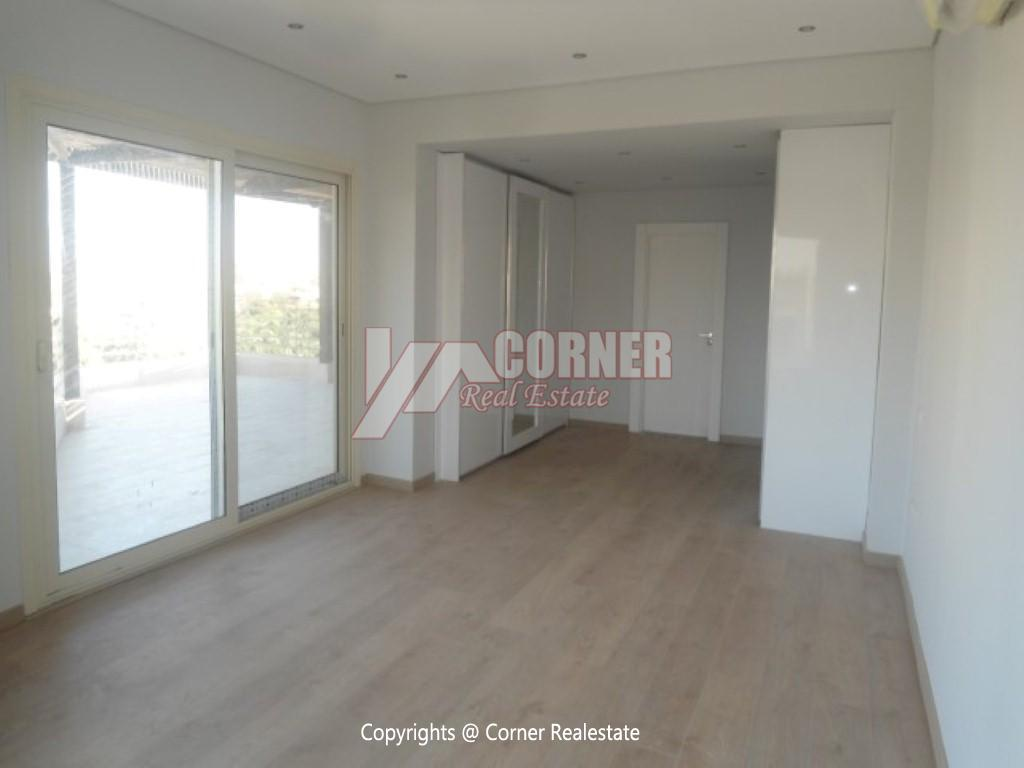 Ground Floor With Private Pool For Rent in Maadi,Semi furnished,Ground Floor NO #4