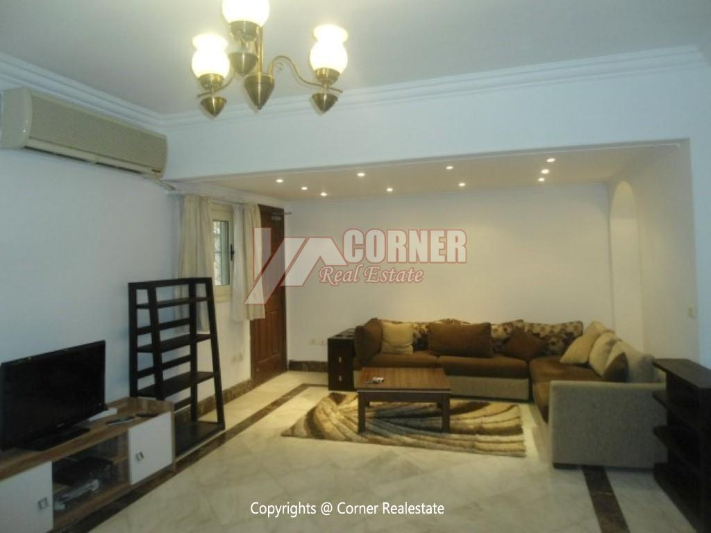 Modern Apartment For Rent In Maadi Sarayat,Modern Furnished,Ground Floor NO #9
