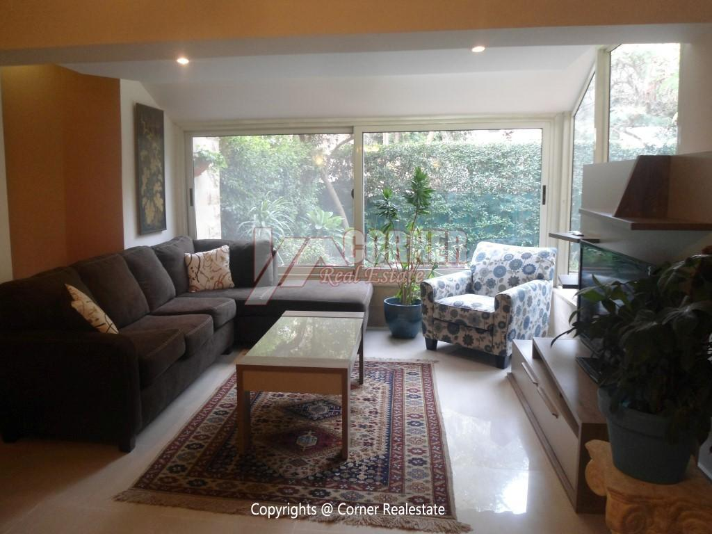 Ground Floor Duplex For Rent in Maadi