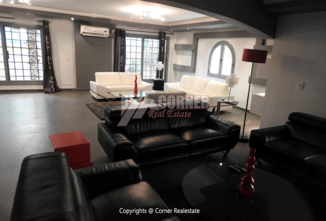 Modern Ground Floor For Rent In Maadi ,Modern Furnished,Ground Floor NO #15