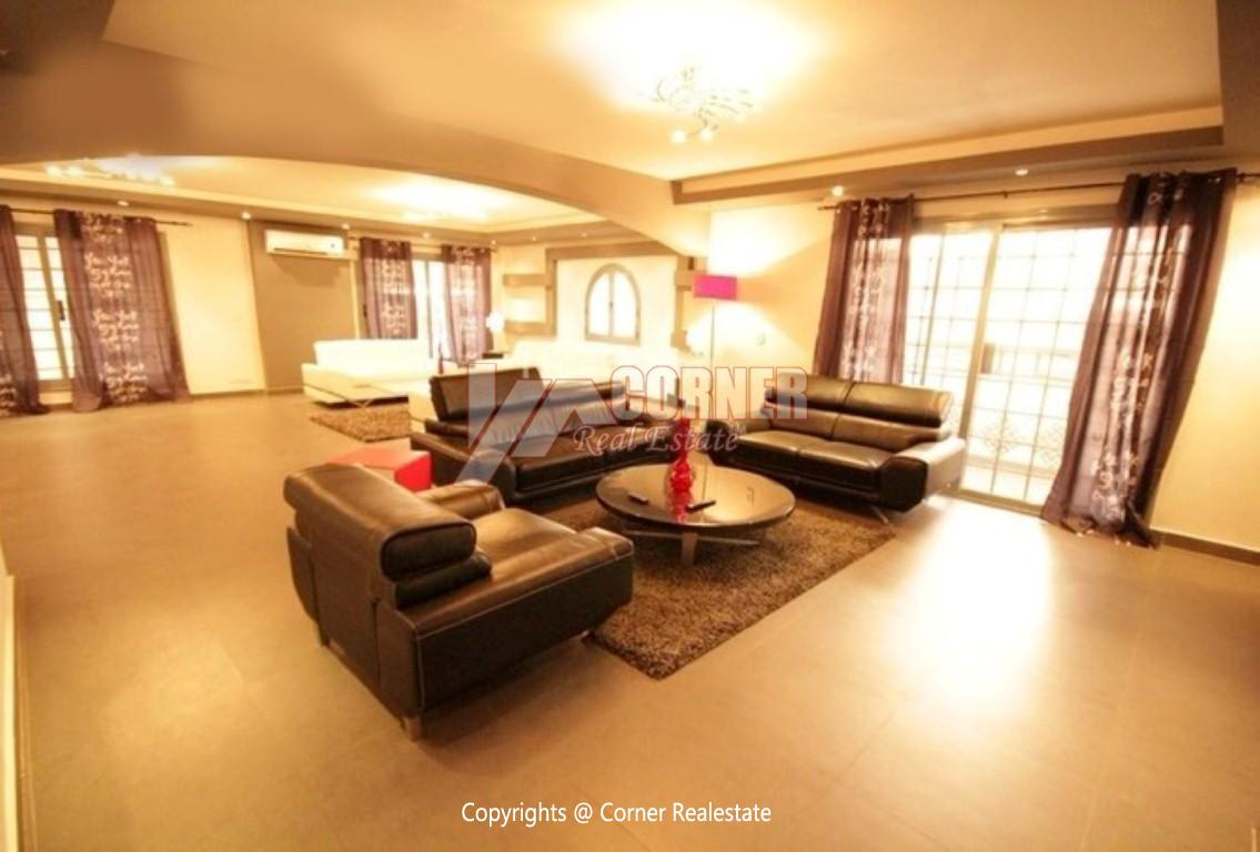 Modern Ground Floor For Rent In Maadi ,Modern Furnished,Ground Floor NO #16