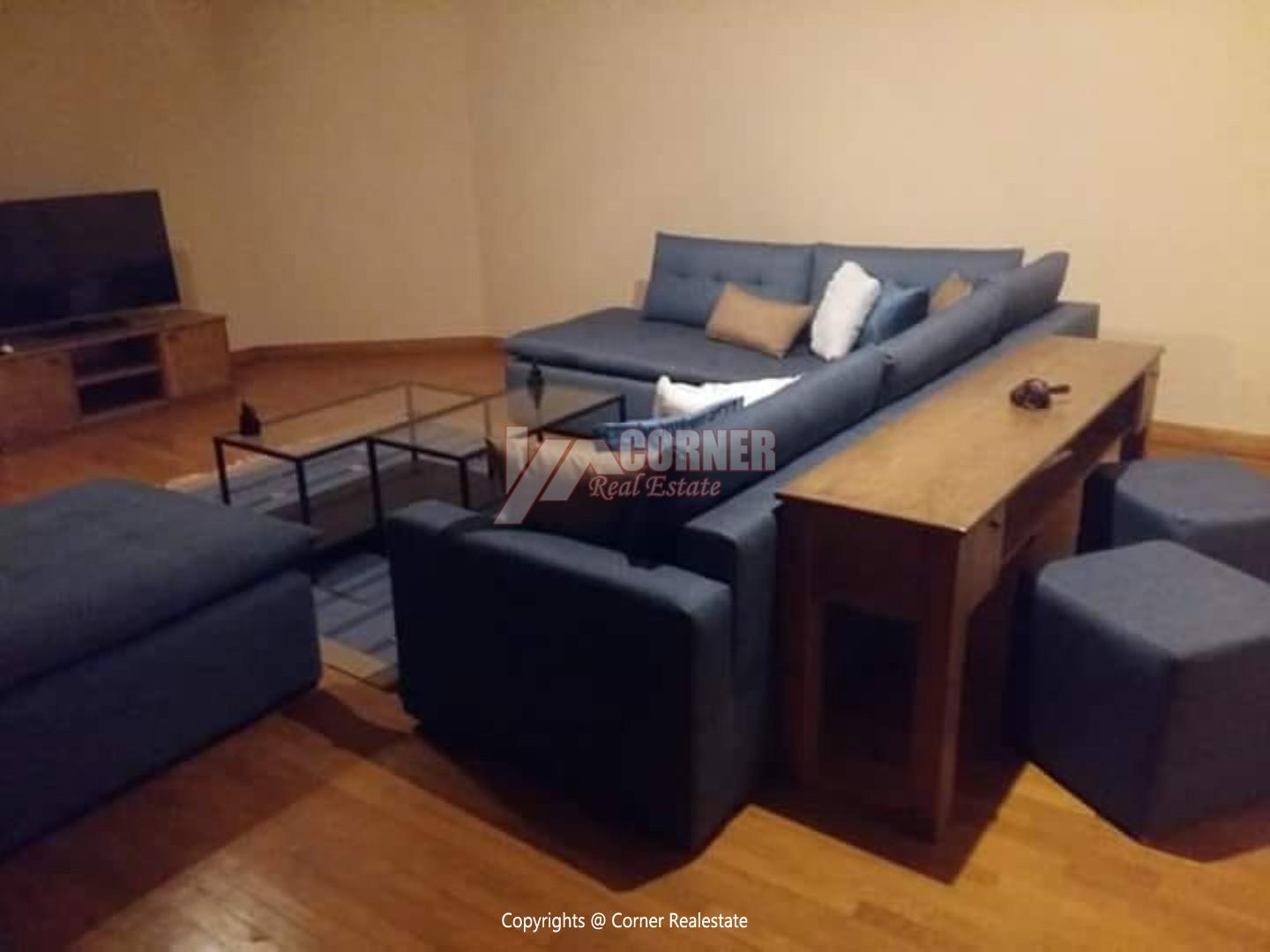 Ground Floor With Private Garden For Rent in Maadi,Modern Furnished,Ground Floor NO #15