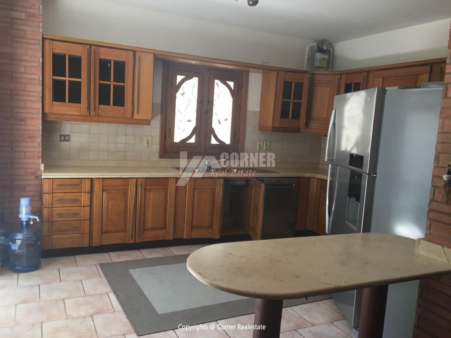 Ground Floor With Private Garden For Rent in Maadi,Modern Furnished,Ground Floor NO #16