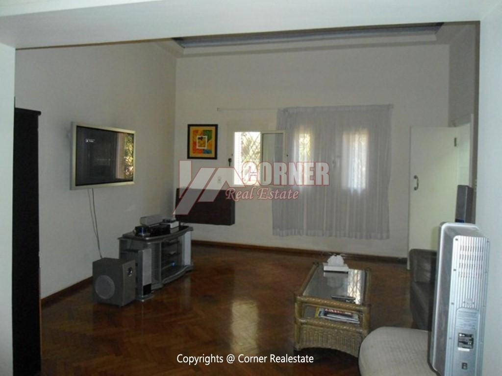 Ground Floor With Pool For Rent In Maadi,Modern Furnished,Ground Floor NO #12