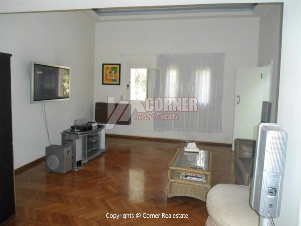 Ground Floor With Pool For Rent In Maadi,Modern Furnished,Ground Floor NO #11