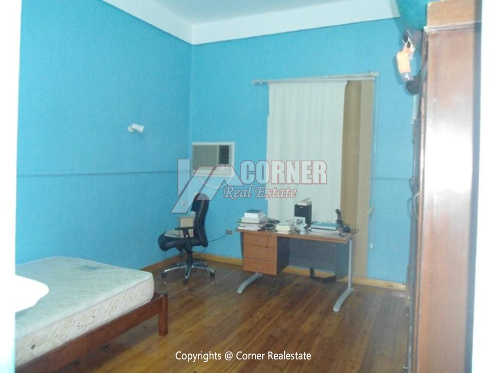 Ground Floor With Pool For Rent In Maadi,Modern Furnished,Ground Floor NO #8