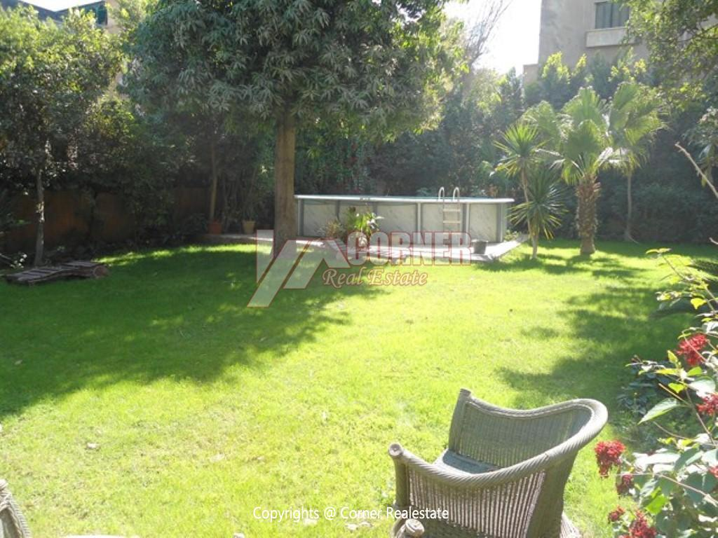 Ground Floor With Pool For Rent In Maadi,Modern Furnished,Ground Floor NO #23