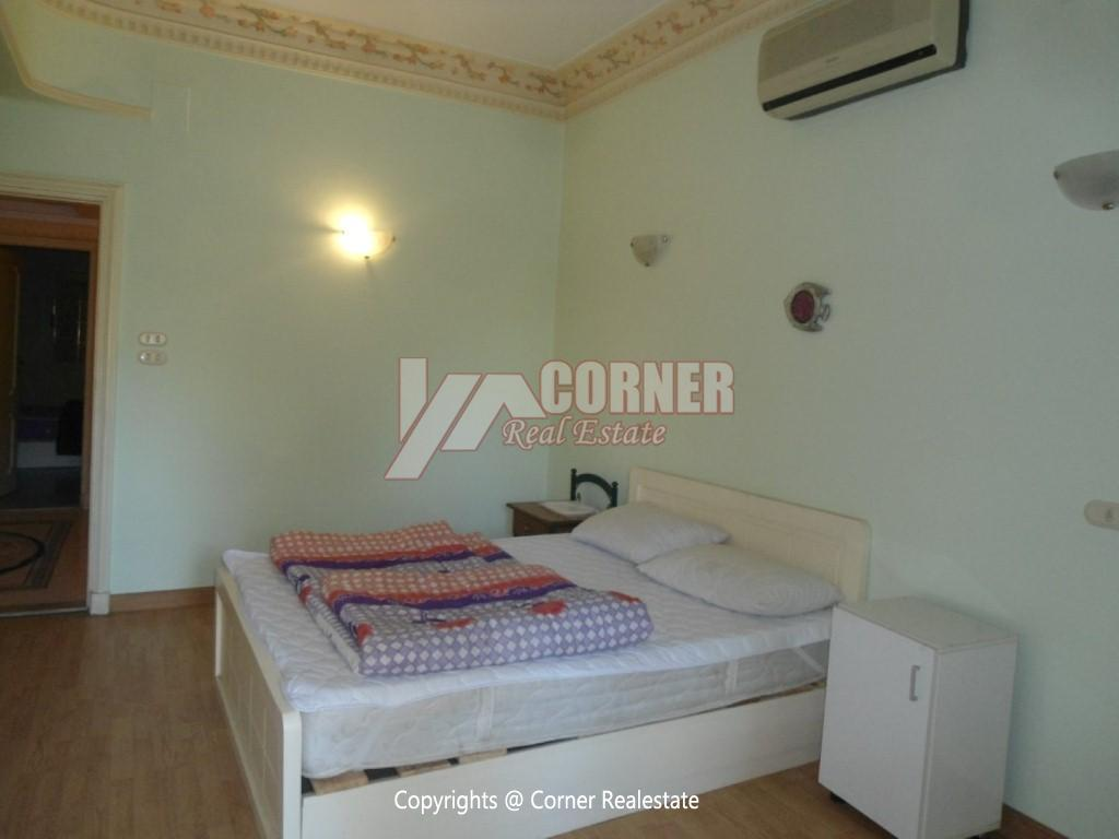 Ground Floor With Private Pool For Rent in Maadi,Modern Furnished,Ground Floor NO #17