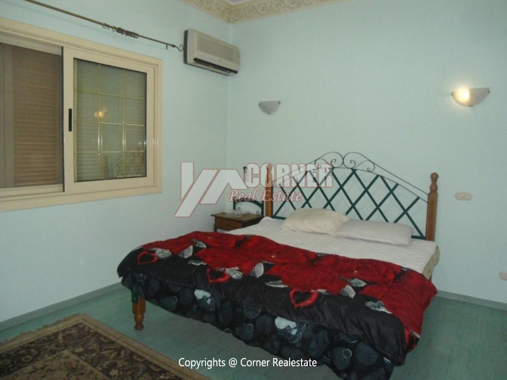 Ground Floor With Private Pool For Rent in Maadi,Modern Furnished,Ground Floor NO #12